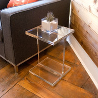 Acrylic I-Beam Table