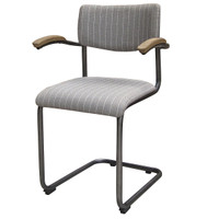 Airporter Dining Chair-Grey