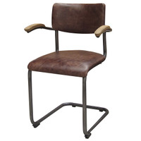 Airporter Leather Dining Chair