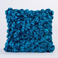 Shimmer Pillow Steel Blue
