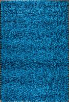 Shimmer Modern Area Rug in Steel Blue