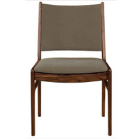 Bina Side Chair-Green Canvas