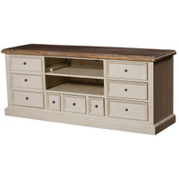 Cottage TV Cabinet-White