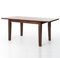 Coastal Rustic Extending Dining Table 71""