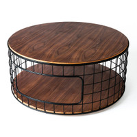Wireframe Round Coffee Table