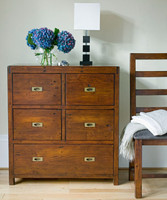 Parsons 5 Drawers Tall Chest