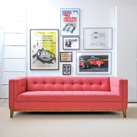 Atwood Sofa-Berkeley Coral