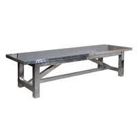 Boston Aero Dining Room Table 114""