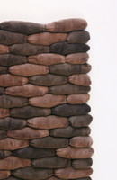 Cobblestone Area Rugs-Dark Earth