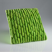 Cobblestone Pillow Green