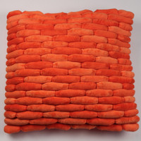 Cobblestone Pillow Orange