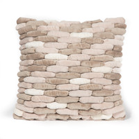Cobblestone Pillow Rain Cloud