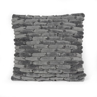Cobblestone Pillow Smoked Pearl