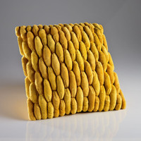 Cobblestone Pillow Yellow