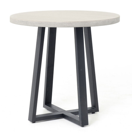 Dining Room Tables Masonry Concrete 32 Bistro Round Dining Table