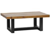 Restoration Metal + Wood Coffee Table