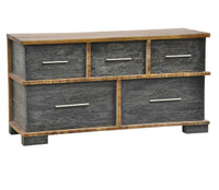 Restoration Rustic 5 Drawer Dresser