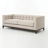 Atelier Greenwich nailhead sofa