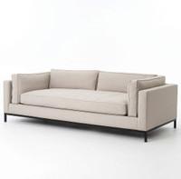 Grammercy Modern Linen Sofa