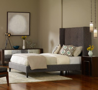 Metro Madison Upholstered Queen Bed