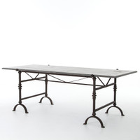 Bluestone Foundry Rectangular Dining Table 86""