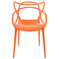 D2 Orange Masters Side Chair