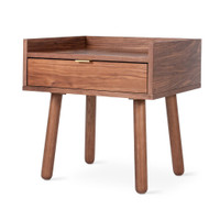 Gus Modern Mimico End Table - Walnut