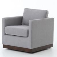 Pivot Upholstered Swivel Chair