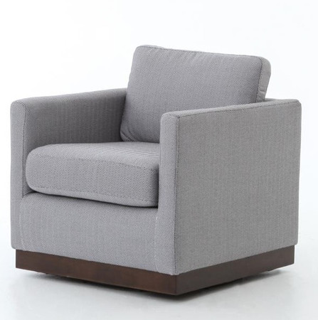 furniture living room accent chairs pivot upholstered swivel chair