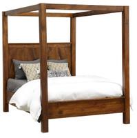 Kosas California King Wood Canopy Bed