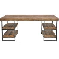 Morella Hewn Wood Desk