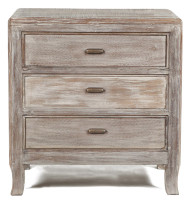 Aria 3 Drawer Night Stand