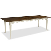 Sonoma Vintage White Extending Kitchen Table