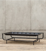 Industrial Riveted Tray Coffee Table