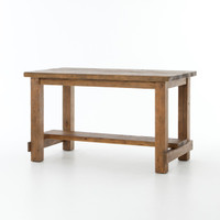 Cecil Farmhouse Reclaimed Wood Counter Dining Table