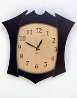 Clock No. 5 - Pieced Wall Clock