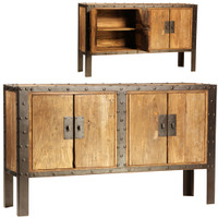 Franklin 4 Door Cabinet