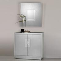 Andover Mirrored Console Cabinet