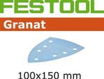 Festool Granat   100 x 150 DTS 400   80 Grit   Pack of 50 (497137)