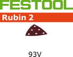 Festool Rubin 2   93 Delta   80 Grit   Pack of 50 (499163)