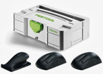 Festool Hand Sanding Block Set + Mini T-Loc (203154) (REPLACES 57000022)