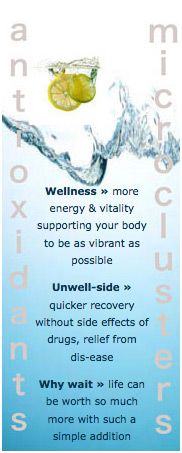 The benefits of Alkaline Antioxidant Water