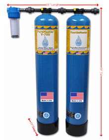 Pure master & Fluoride master - Whole house filtration