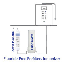 Fluoride-Free prefilter for Water ionizers