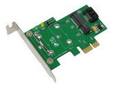 MP3S (mSATA to SATA adapter for PCIe Slot)