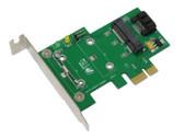 MP3S (mSATA to SATA adapter for PCIe Slot)