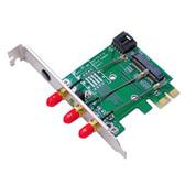 MP2W (Mini PCI-E / PCI-E adapter ver 2.2)