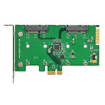 PP1061 (Dual mSATA to PCIe x1 adapter)