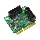 PM1061 (SATA III to Mini PCIe 2.0 adapter)