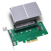 M2P4A (PCIe  X4 to M.2 (NGFF) SSD Adapter)
